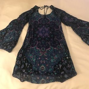 Spell & The Gypsy Collective Dresses - Spell Kiss the Sky mini. Sz XS. NWOT